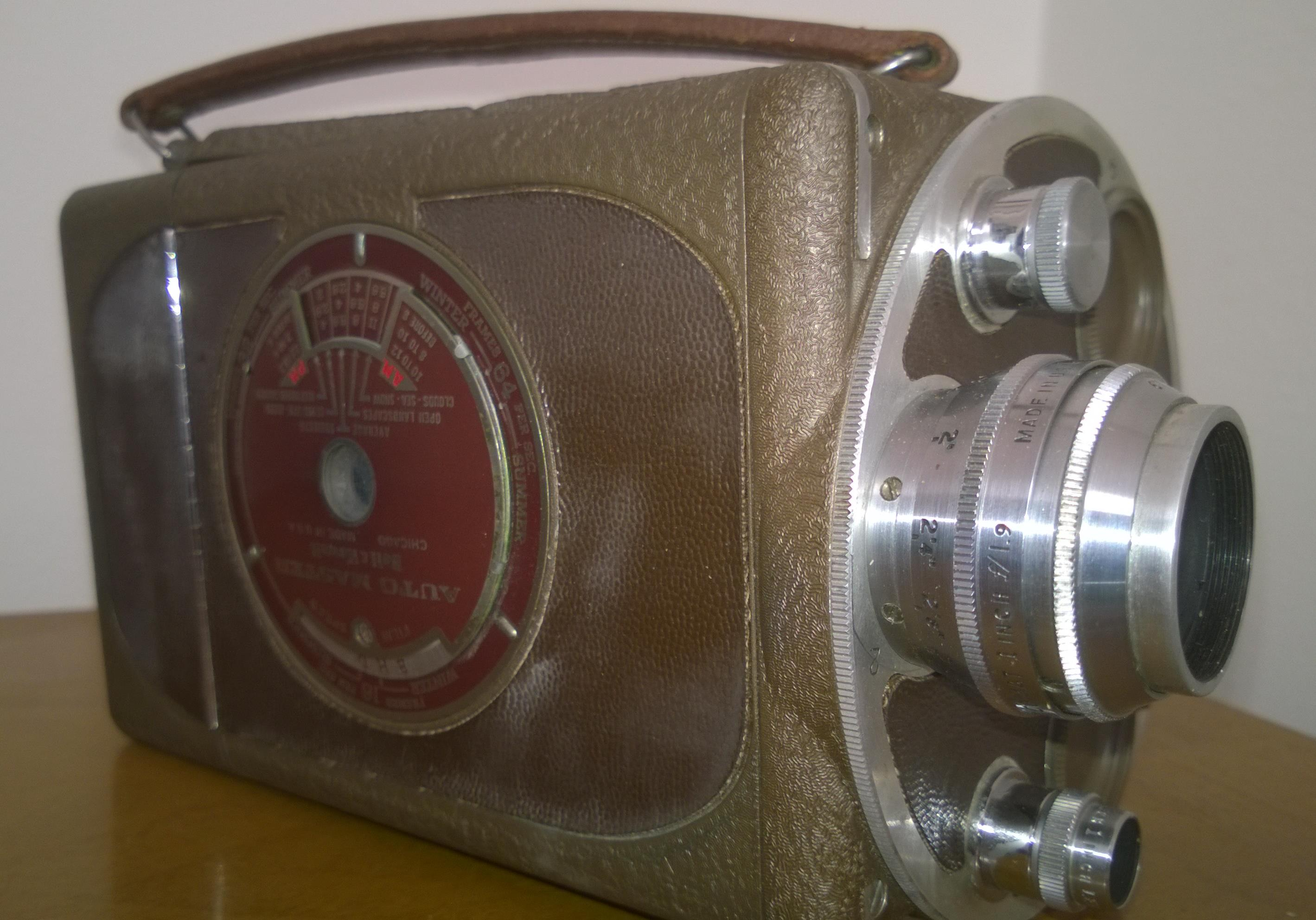 16 mm Bell & Howell Movie Camera (Auto Master)