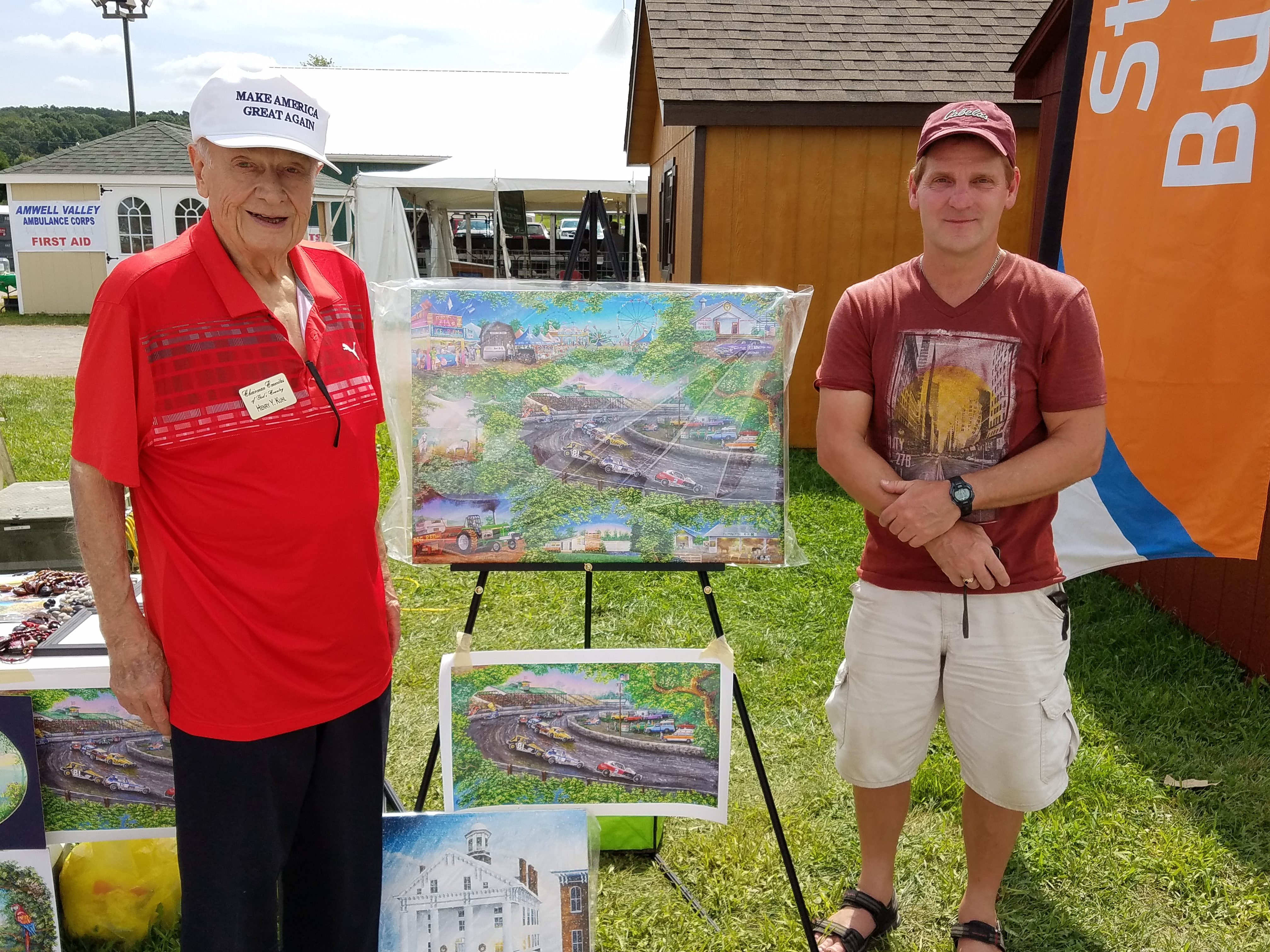 4h Fair With Henry Kuhl And Paul Hoffman In Ringoes Nj 08252018
