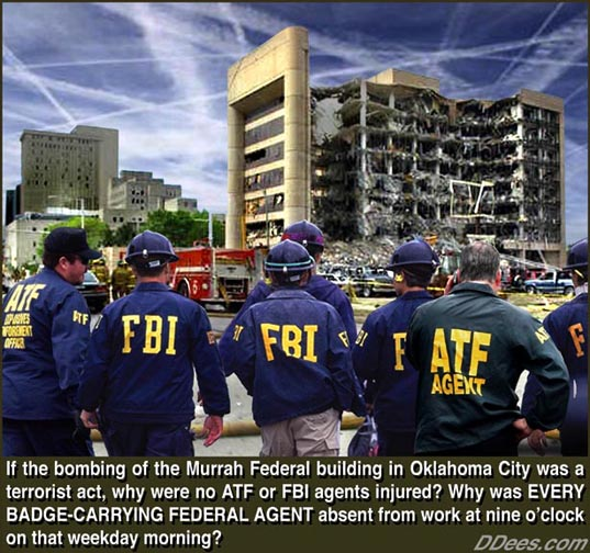 Oklahoma Bombing-why were there no ATF and FBI agents in the building
