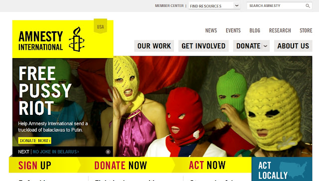 Amnesty International Pussy Riot
