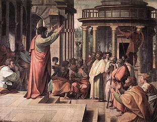 Apostle Paul's Areopagus address