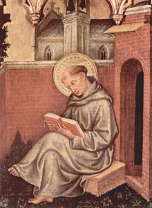 Aquinas by Gentile da Fabriano in 1400