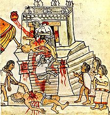 Aztec sacrifices