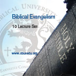 Biblical Evangelism CD series by Dr. Robert A. Morey