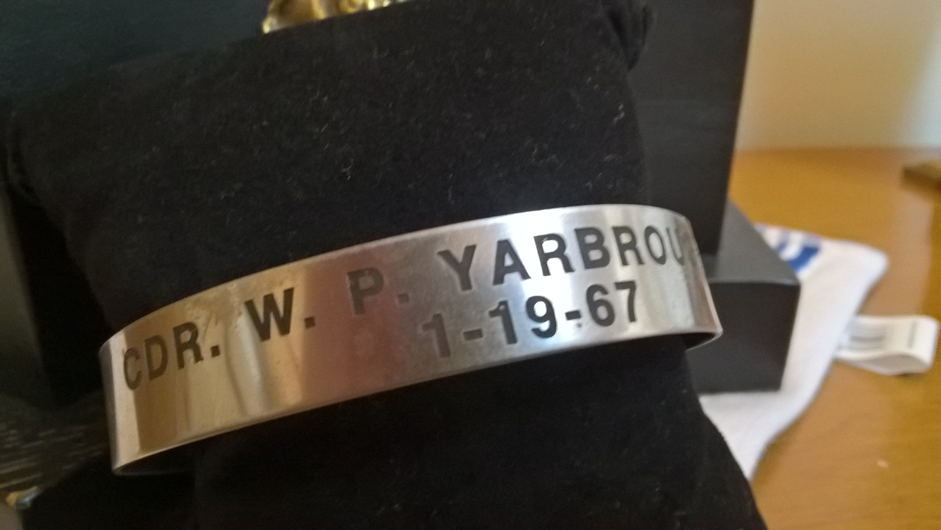 CDR. W.P. Yarbrough Jr.1/19/67