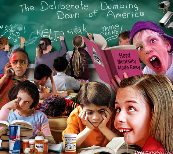 Dumbing down American kids