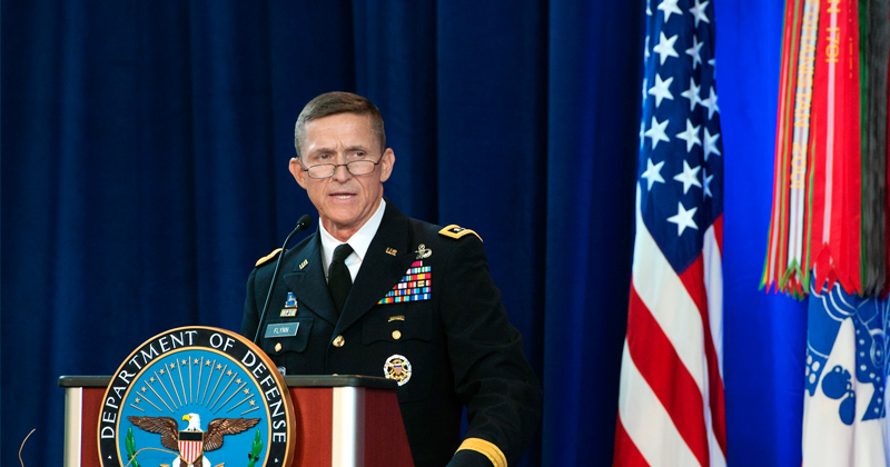 General Flynn gets screwed by the Neocons such as Vice President Pence