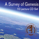 Survey of Genesis CD lecture by Dr. Robert A. Morey