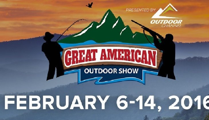 Great American Outdoor Show in Harrisburg, PA on February 6-14th, 2016.