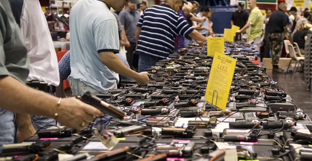 Criminals do not buy weapons from gun shows.