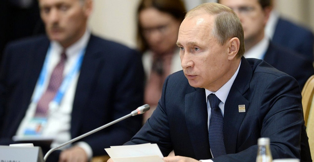President Putin claims that global warming is a weapon