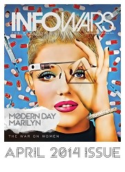 Infowars Magazine April 2014 titled The War on Women