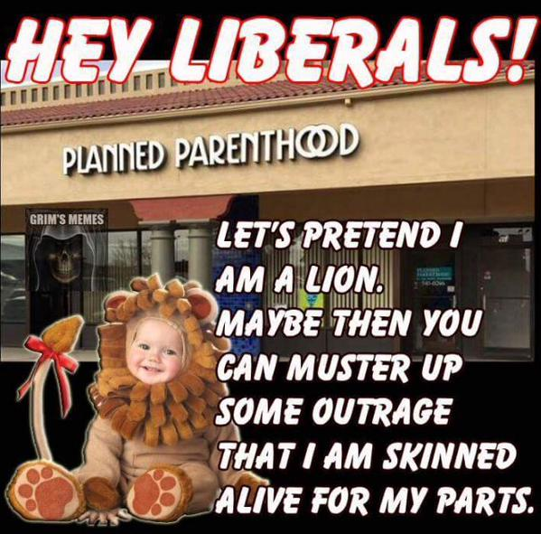 Liberals and Planned Parenthood