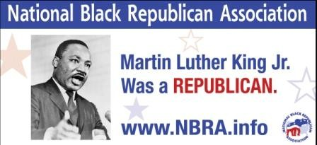 Martin Luther King Jr was a Republican