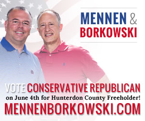 Will Mennen and Tom Borkowski for Republican Hunterdon County Freeholders--the true conservatives.