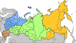 Military Districts of Russia 2010