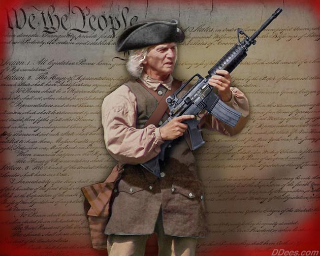 Founding Fathers Militia had the equivalent of the M16