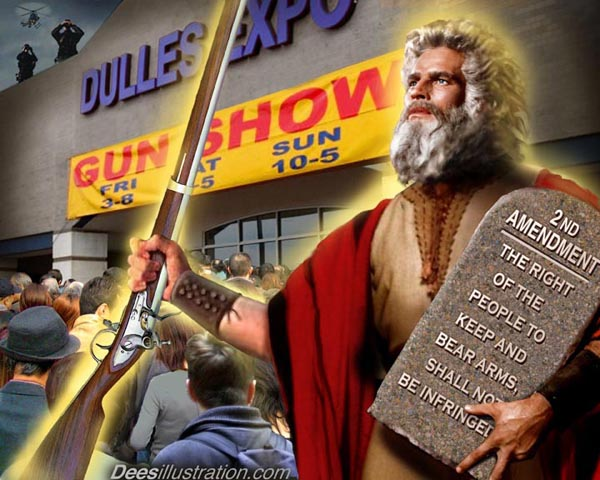 Moses and the second Amendment