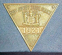 New Jersey State Police Badge