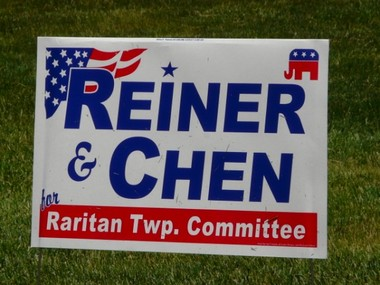 Reiner and Chen for Raritan Twp. Committee