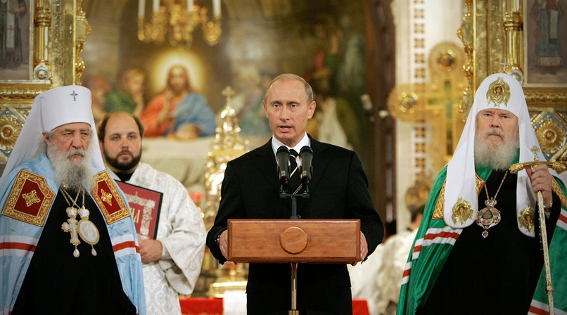 Russia Christianity a threat to the USA