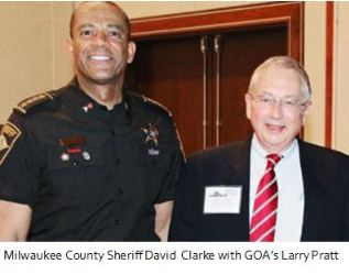 Sheriff David Clarke and Larry Pratt