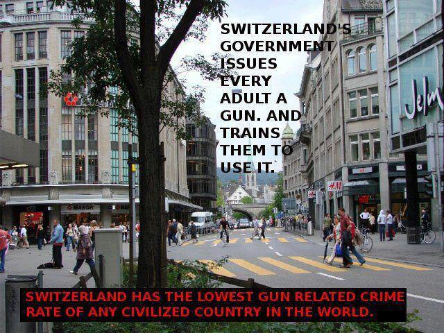 Switzerland and Guns