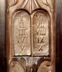 Ten Commandments on Front Bronze Doors--Supreme Court Building