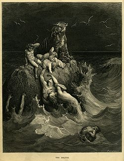 The Deluge by Gustave Dore in 1866