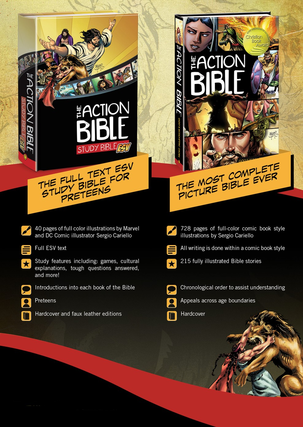 The Action Bible for Kids