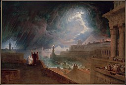 The Seventh Plague by John Martin (1823); Exodus 9:13-35.