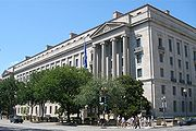 US Department of Justice Building