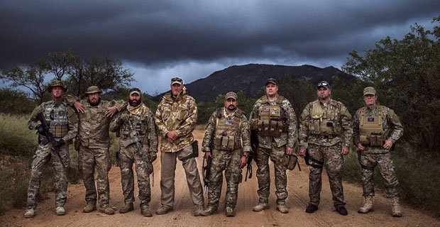 Border Recon volunteers.