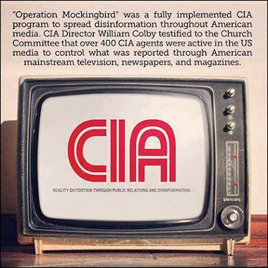 CIA has over 400 agents in the news media