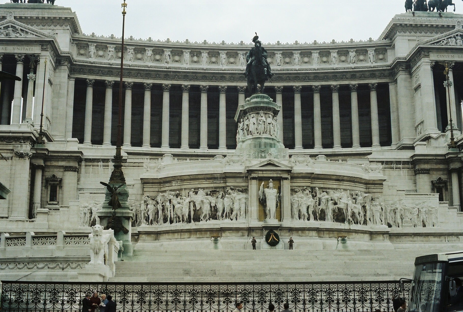 Monument to Victor Emmanuel II, first King of a united Italy