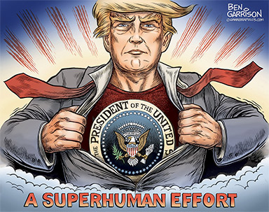Donald Trump a Superman