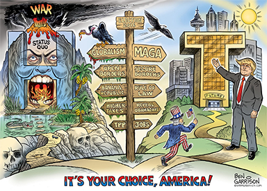 Your choice between Globalism vs Sovereignty